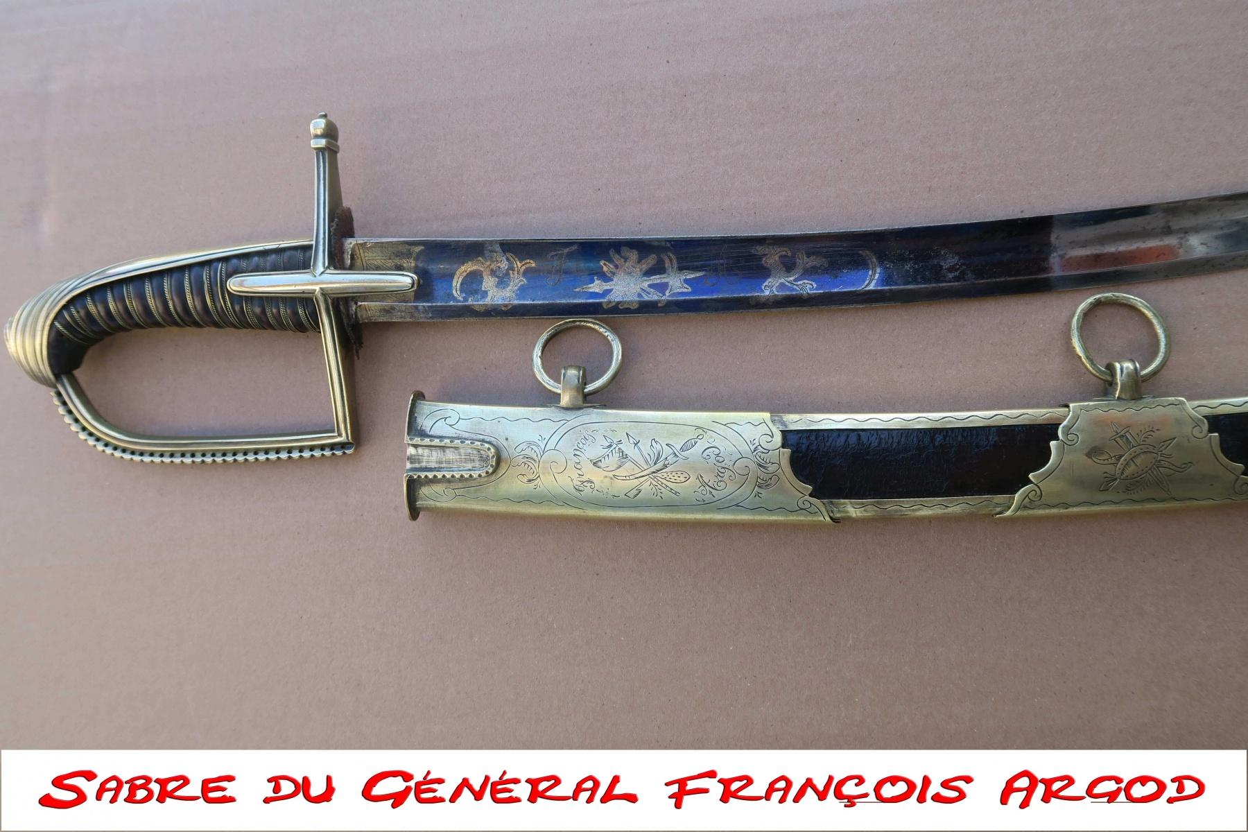 Sabre-du-General-Francois-Argod
